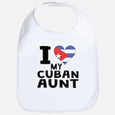 I Heart My Cuban Aunt Bib
