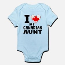 I Heart My Canadian Aunt Body Suit