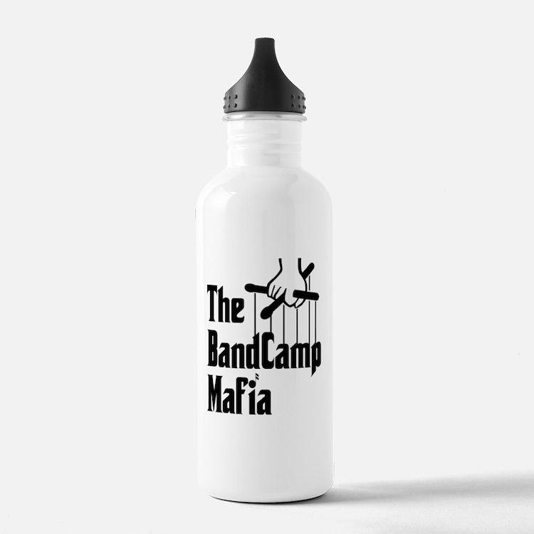 Band Camp Mafia Water Bottle