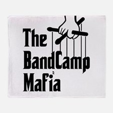 Band Camp Mafia Throw Blanket