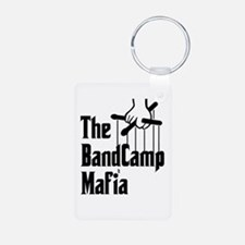 Band Camp Mafia Aluminum Photo Keychain