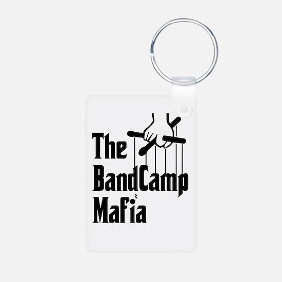 Band Camp Mafia Aluminum Photo Keychain