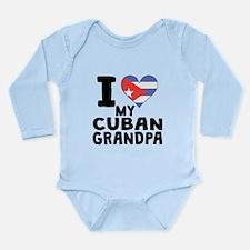 I Heart My Cuban Grandpa Body Suit