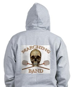 Marching Band Pirate Zip Hoodie