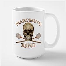 Marching Band Pirate Large Mug