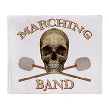 Marching Band Pirate Throw Blanket