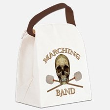 Marching Band Pirate Canvas Lunch Bag