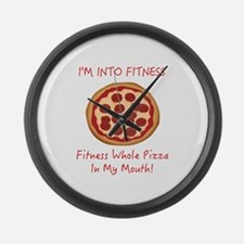 I'M INTO FITNESS, FITNESS WHOLE P Large Wall Clock