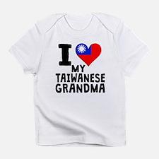 I Heart My Taiwanese Grandma Infant T-Shirt