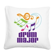 Drum Major Award Square Canvas Pillow