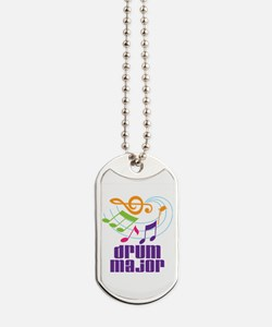 Drum Major Award Dog Tags