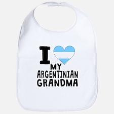 I Heart My Argentinian Grandma Bib