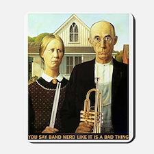 American Band Nerd Mousepad