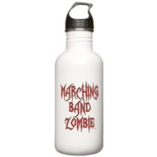Marching Band Zombie Water Bottle