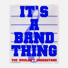It's a Band Thing Throw Blanket