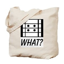 What? Repeat That! Tote Bag