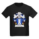 Pedrosa Family Crest Kids Dark T-Shirt