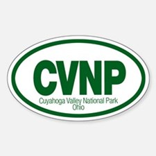 Cuyahoga Valley National Park Oval Decal