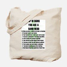 Band Nerd Top 10 Tote Bag