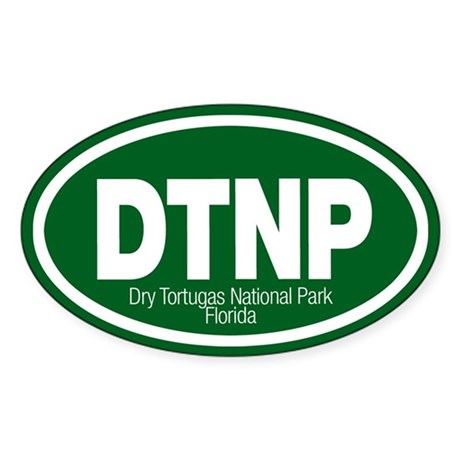 Dry Tortugas National Park Oval Sticker