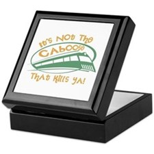 It's Not The Caboose That Kills You Keepsake Box
