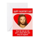 Sorry Ass Valentine Cards (Pack of 6)