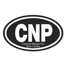 Canyonlands National Park Oval Decal
