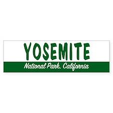 Yosemite National Park Bumper Bumper Sticker