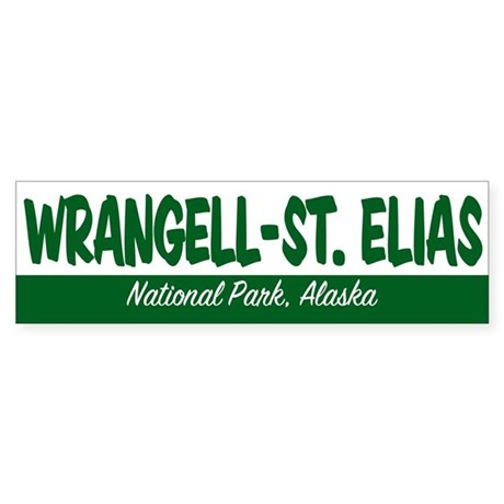 Wrangell-St. Elias National Park Bumper Sticker