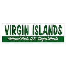 Virgin Islands National Park Bumper Bumper Sticker