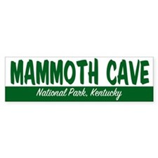 Mammoth Cave National Park Bumper Bumper Sticker