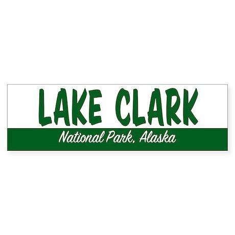 Lake Clark National Park Bumper Sticker