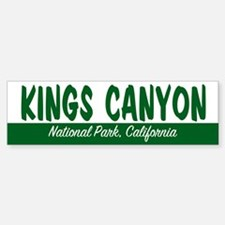 Kings Canyon National Park Bumper Bumper Bumper Sticker