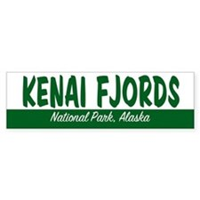 Kenai Fjords National Park Bumper Bumper Sticker