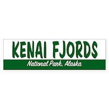 Kenai Fjords National Park Bumper Bumper Sticker