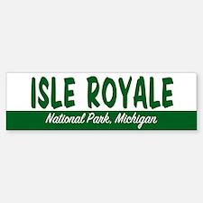 Isle Royale National Park Bumper Bumper Bumper Sticker