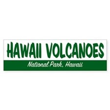 Hawaii Volcanoes National Park Bumper Bumper Sticker