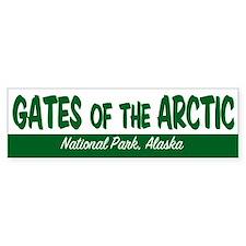 Gates of the Arctic National Park Bumper Bumper Sticker