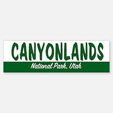 Canyonlands National Park Bumper Bumper Bumper Sticker