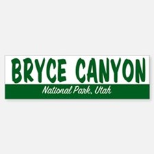 Bryce Canyon National Park Bumper Bumper Bumper Sticker