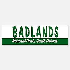 Badlands National Park Bumper Bumper Bumper Sticker