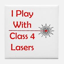 Class 4 Laser Tile Coaster