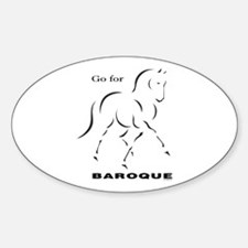 Go For Baroque Decal