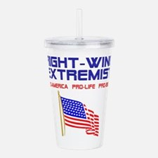 Right Wing Extremist C Acrylic Double-wall Tumbler