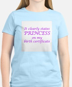 IT CLEARLY STATES PRINCESS O T-Shirt