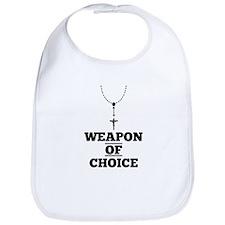 Weapon of Choice Bib