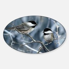 chickadee song bird Decal