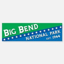 Big Bend National Park Bumper Bumper Bumper Sticker