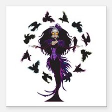 "Morrigan Square Car Magnet 3"" x 3"""