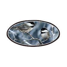 chickadee song bird Patch